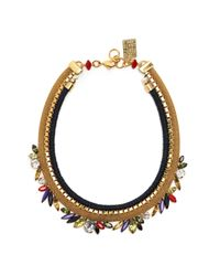 Lizzie Fortunato | Metallic Primary Crystal Necklace | Lyst