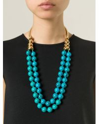 Aurelie Bidermann | Blue 'lakotas' Necklace | Lyst