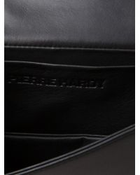 Pierre Hardy - Black Alpha Leather Shoulder Bag - Lyst