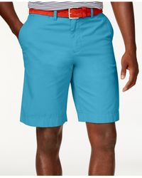 Tommy Hilfiger | Blue Classic-fit Chino Shorts for Men | Lyst