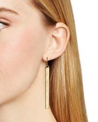 Ralph Lauren - Metallic Lauren Bar Drop Earrings - Lyst