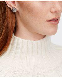 Ann Taylor | Metallic Starburst Stud Earrings | Lyst