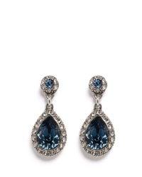 Philippe Audibert | Blue Elea Crystal Drop Earrings | Lyst