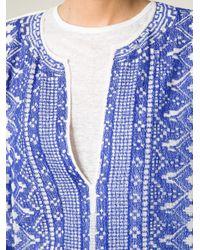 Étoile Isabel Marant - Blue Printed Kaftan - Lyst