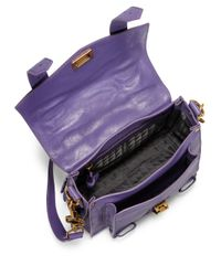 Proenza Schouler - Purple Ps1 Pouch Leather Crossbody Bag - Lyst