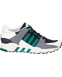 ADIDAS EQT SUPPORT 93/17 White, Black & Turbo Red Pink