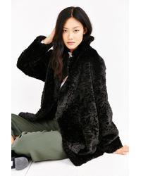 Just Female - Black Mawi Coat - Lyst