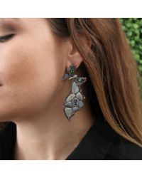 Wendy Yue - Orange Opal Butterfly Wing Earrings - Lyst