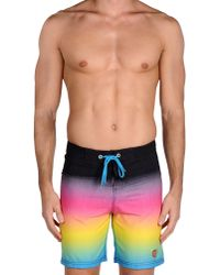 Santa Cruz - Black Beach Trousers for Men - Lyst