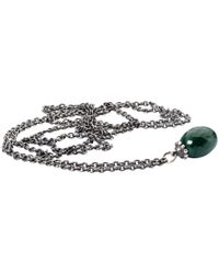 Trollbeads - Metallic Fantasy Purple Amethyst Pendant Necklace - Lyst