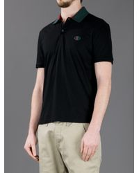 cd0f5cb05f3 Lyst - Gucci Polo Shirt in Black for Men