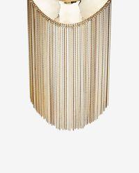 Monica Sordo - Metallic Goddess Fringe Necklace - Lyst