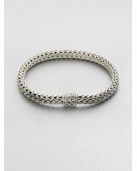 John Hardy - Metallic Medium Oval Chain Bracelet for Men - Lyst