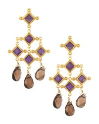 Stephanie Kantis | Purple Venetian Chandelier Earrings | Lyst