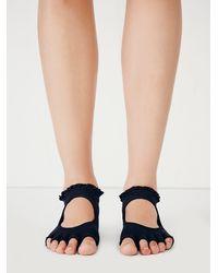 Free People | Black Toesox Womens Lace Namaste Yoga Sock | Lyst