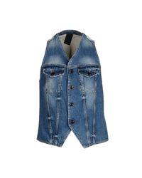 People - Blue Waistcoat for Men - Lyst