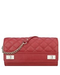 Nine West | Red Flip Lock Crossbody Bag | Lyst