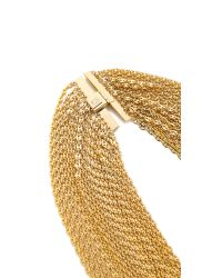 DANNIJO | Metallic Laurent Necklace - Gold | Lyst