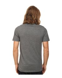 Hurley - Gray One & Only Dri-fit S/s Tee for Men - Lyst
