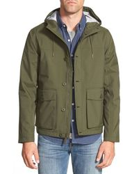 Timberland | Green 'mt. Clay' Waterproof Hooded Jacket for Men | Lyst