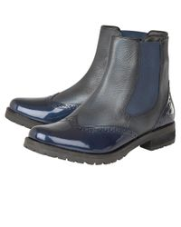 Lotus - Blue Brianza Womens Chelsea Boots - Lyst