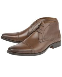 Lotus | Brown Rickard Mens Casual Leather Boots for Men | Lyst