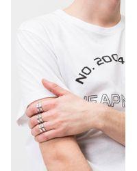 Cheap Monday - Multicolor Razor Rings for Men - Lyst