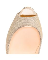 Christian Louboutin - Multicolor Lady Peep - Lyst
