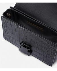 Christopher Kane - Black Mini Devine Leather Shoulder Bag - Lyst