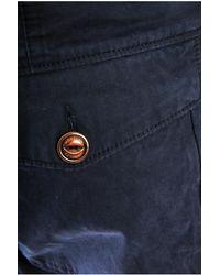 Moncler - Blue Combat Pants for Men - Lyst