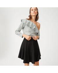 Club Monaco   Black Leala Skirt   Lyst