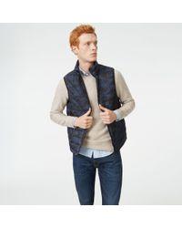 Club Monaco - Blue Tech Vest for Men - Lyst