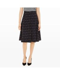 Club Monaco | Black Tove Matchstick Skirt | Lyst