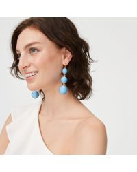 Club Monaco - Blue Bauble Solid Earring - Lyst