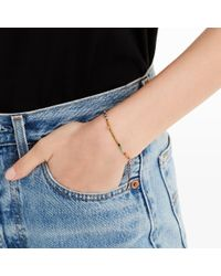 Club Monaco - Red Mini Beads Bracelet - Lyst