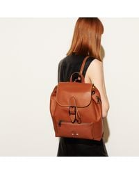 COACH - Multicolor Mickey Rainger Backpack In Glovetanned Leather - Lyst