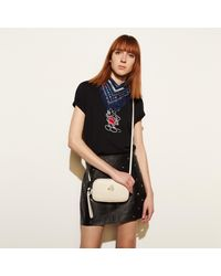 COACH - Multicolor Mickey Crossbody Clutch In Glovetanned Leather - Lyst