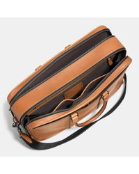 COACH | Brown Metropolitan Commuter In Sport Calf Leather | Lyst