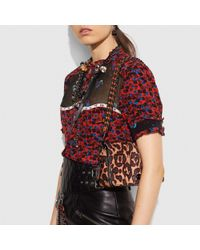 COACH - Multicolor Dinky In Printed Haircalf - Lyst
