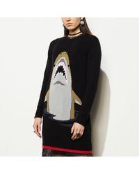 COACH | Black Shark Dress | Lyst