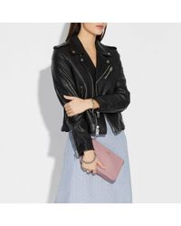 COACH - Multicolor Nolita Wristlet 22 In Polished Pebble Leather - Lyst
