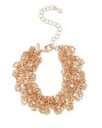 Coast - Multicolor Sparkle Chain Bracelet - Lyst