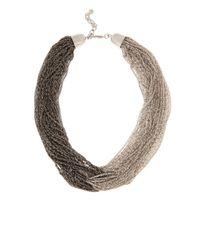 Coast   Metallic Kacie Knot Necklace   Lyst