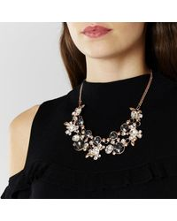 Coast - Metallic Naveah Necklace - Lyst