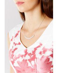 Coast - Multicolor Erin Cubic Zirconia Necklace - Lyst