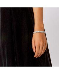 Coast | Metallic Letala Cubic Zirconia Bracelet | Lyst