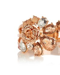 Coast - Multicolor Freya Floral Cuff Bracelet - Lyst