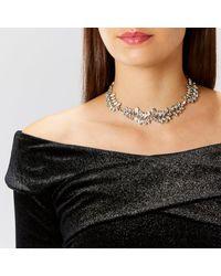 Coast - Metallic Jamie Sparkle Necklace - Lyst