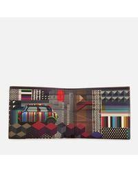 Paul Smith - Black Accessories Men's Mini Print Billfold Wallet for Men - Lyst