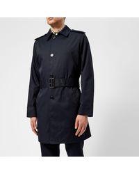 Aquascutum - Blue Men's Camber Lightweight Sb Trench Coat for Men - Lyst